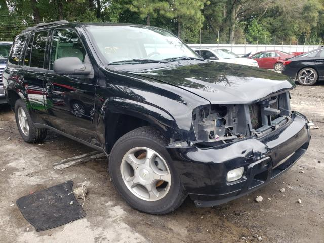 Salvage cars for sale from Copart Austell, GA: 2008 Chevrolet Trailblazer