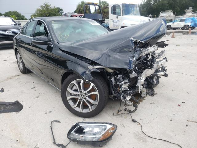 Salvage cars for sale from Copart Punta Gorda, FL: 2018 Mercedes-Benz C300