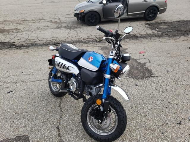 Salvage motorcycles for sale at Moraine, OH auction: 2021 Honda Z125 M