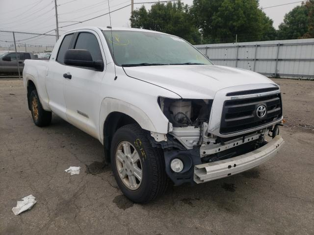 Salvage cars for sale from Copart Moraine, OH: 2011 Toyota Tundra DOU