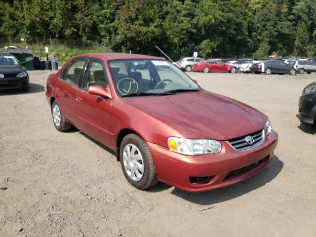 Salvage cars for sale from Copart Marlboro, NY: 2002 Toyota Corolla CE