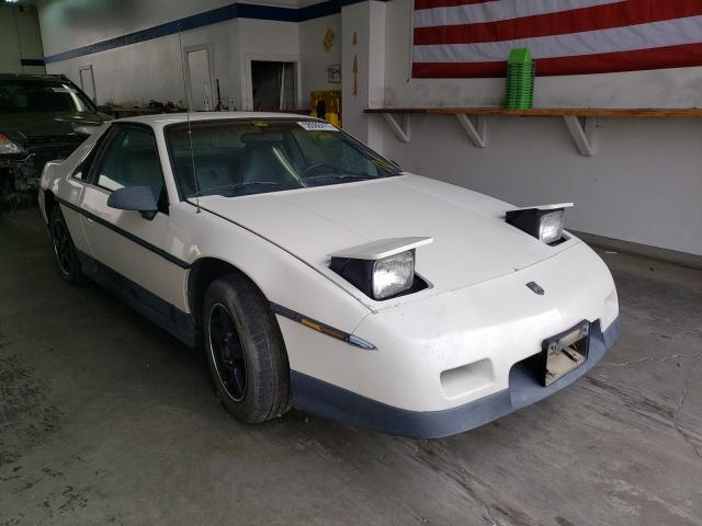 Salvage cars for sale from Copart Pasco, WA: 1986 Pontiac Fiero SE