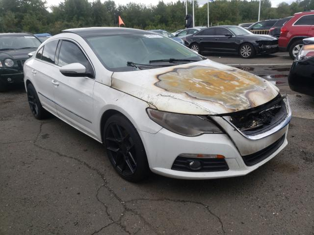 Salvage cars for sale from Copart East Granby, CT: 2012 Volkswagen CC Luxury