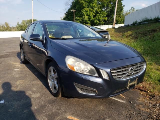 Salvage cars for sale from Copart Marlboro, NY: 2012 Volvo S60 T5