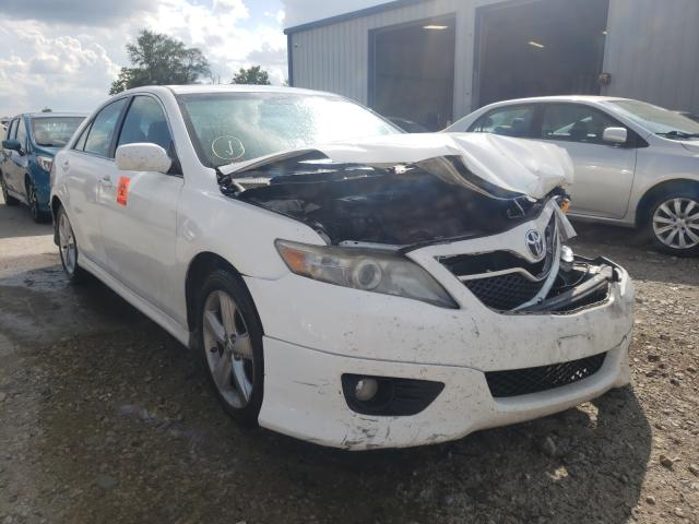 Salvage cars for sale from Copart Sikeston, MO: 2011 Toyota Camry Base