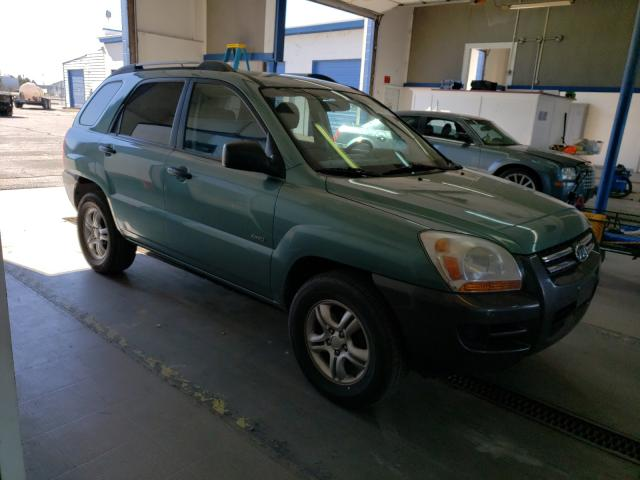 Salvage cars for sale from Copart Pasco, WA: 2006 KIA New Sporta