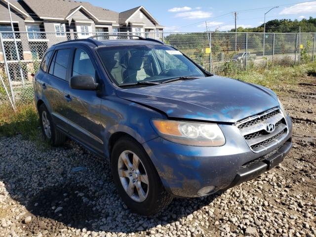 Salvage cars for sale from Copart Madison, WI: 2007 Hyundai Santa FE S