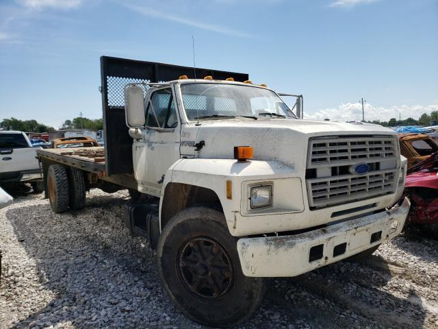 Ford F700 salvage cars for sale: 1991 Ford F700