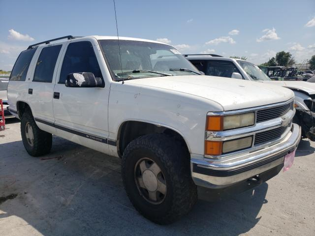Salvage cars for sale from Copart Tulsa, OK: 1999 Chevrolet Tahoe K150