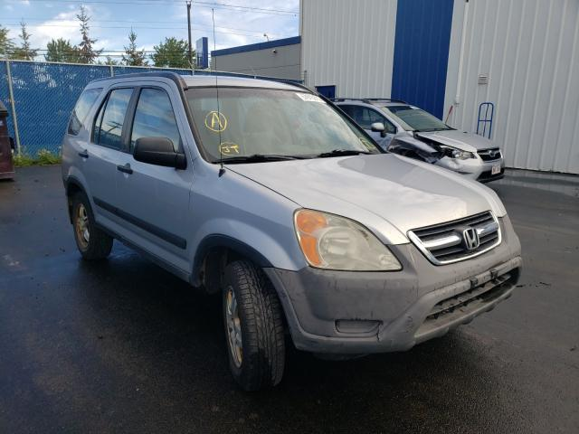 Salvage cars for sale at Moncton, NB auction: 2003 Honda CR-V LX