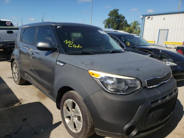 Salvage cars for sale from Copart Riverview, FL: 2016 KIA Soul