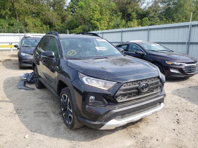 Salvage cars for sale from Copart Glassboro, NJ: 2021 Toyota Rav4 Adven