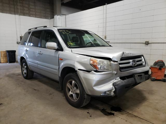 Salvage cars for sale from Copart Blaine, MN: 2007 Honda Pilot EXL
