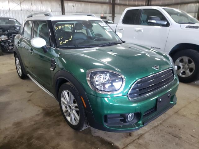 Salvage cars for sale from Copart Des Moines, IA: 2020 Mini Cooper COU