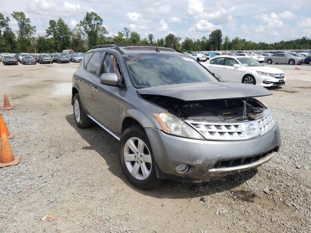 Vehiculos salvage en venta de Copart Lumberton, NC: 2007 Nissan Murano SL