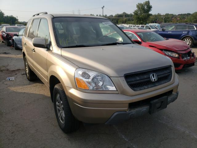 Salvage cars for sale from Copart Baltimore, MD: 2005 Honda Pilot EXL