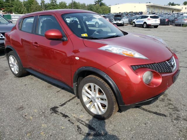 Salvage cars for sale from Copart Exeter, RI: 2011 Nissan Juke S