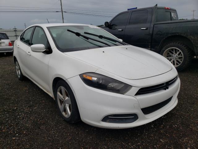 Salvage cars for sale from Copart Newton, AL: 2015 Dodge Dart SXT