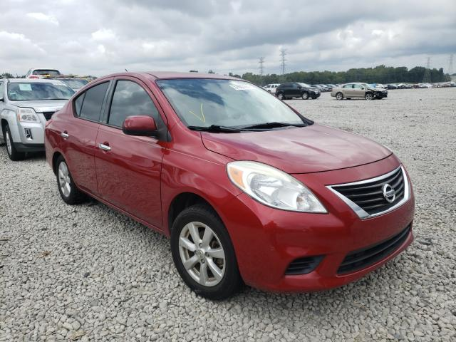 Salvage cars for sale from Copart Memphis, TN: 2014 Nissan Versa S