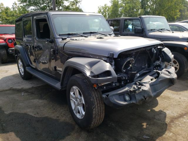 Salvage cars for sale from Copart Marlboro, NY: 2020 Jeep Wrangler U