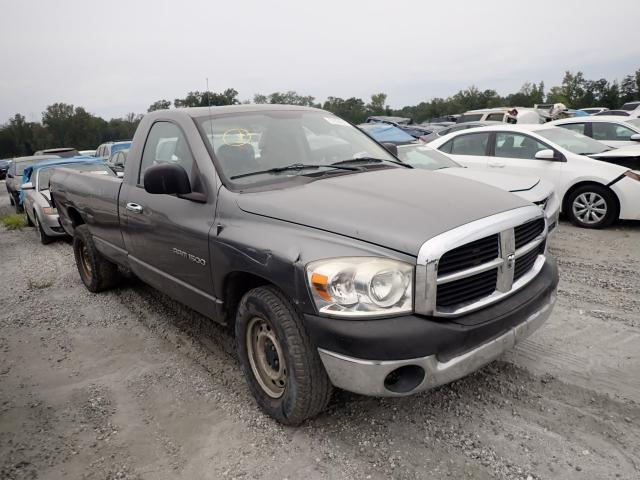 Salvage cars for sale from Copart Spartanburg, SC: 2007 Dodge RAM 1500 S