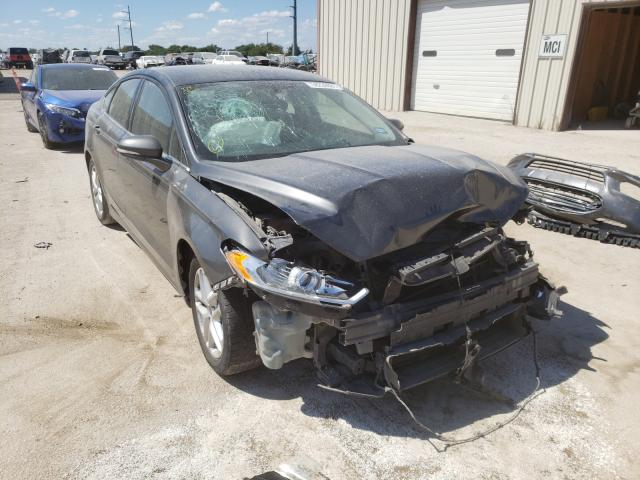 Salvage cars for sale from Copart Temple, TX: 2016 Ford Fusion SE