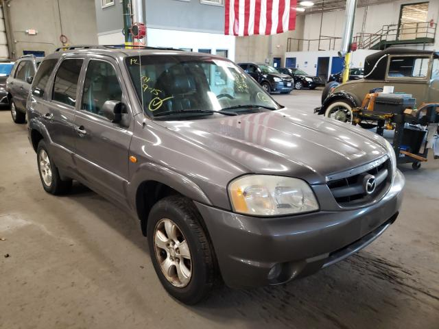 Salvage cars for sale from Copart Blaine, MN: 2003 Mazda Tribute ES