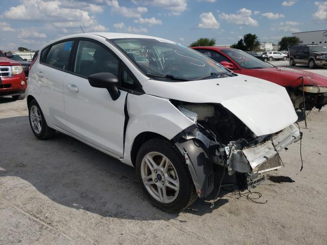 Salvage cars for sale from Copart Tulsa, OK: 2019 Ford Fiesta SE