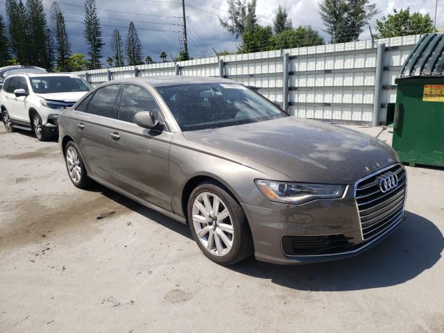 Audi Vehiculos salvage en venta: 2016 Audi A6 Premium