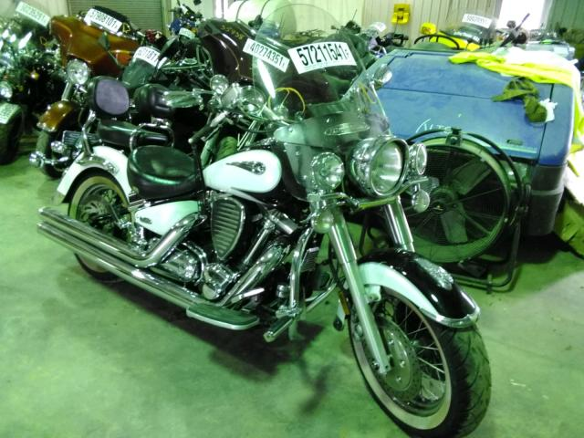 Salvage cars for sale from Copart Chatham, VA: 2005 Yamaha XV1700 A