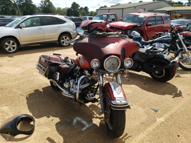 Salvage cars for sale from Copart Longview, TX: 2008 Harley-Davidson Flhtcui