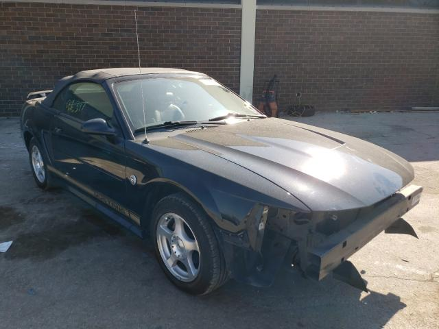 Salvage cars for sale from Copart Wheeling, IL: 2004 Ford Mustang