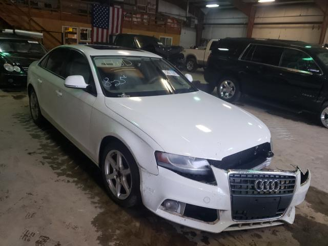 Salvage cars for sale from Copart Austell, GA: 2009 Audi A4 Premium