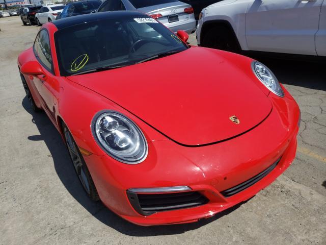 Porsche Vehiculos salvage en venta: 2018 Porsche 911 Carrer
