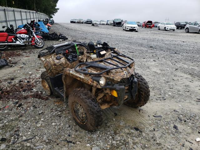 Salvage motorcycles for sale at Loganville, GA auction: 2020 Can-Am Outlander