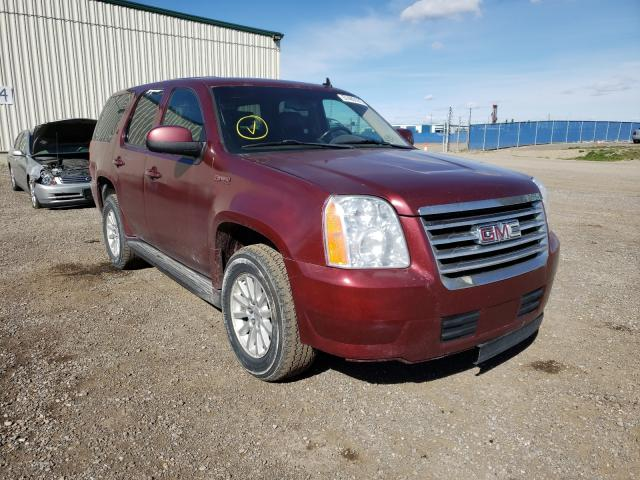 Salvage cars for sale from Copart Rocky View County, AB: 2008 GMC Yukon Hybrid