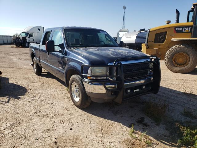 Salvage cars for sale from Copart Amarillo, TX: 2004 Ford F250 Super