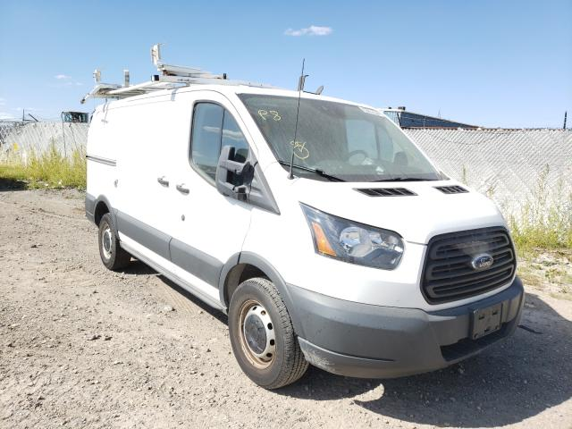 Salvage cars for sale from Copart Eldridge, IA: 2015 Ford Transit T