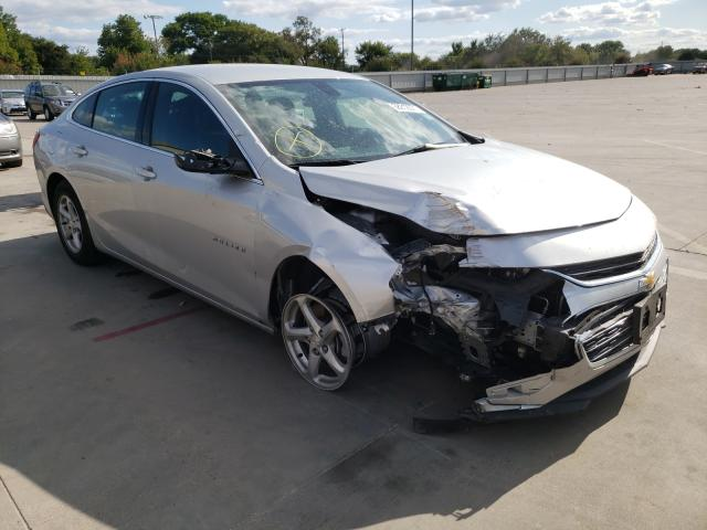 Vehiculos salvage en venta de Copart Wilmer, TX: 2018 Chevrolet Malibu LS