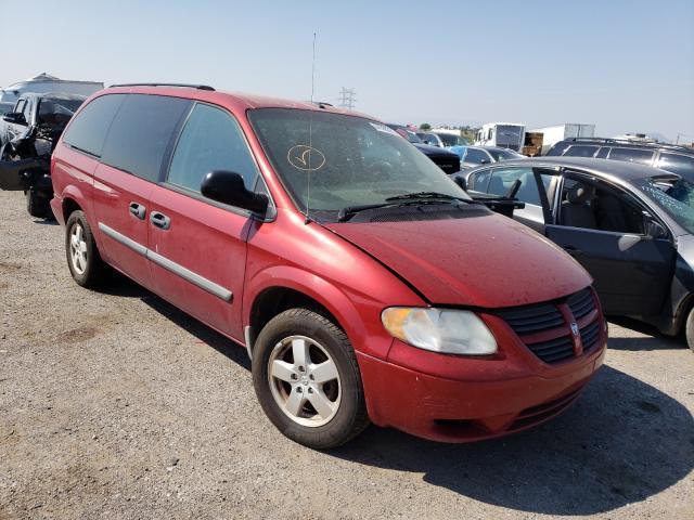 Salvage cars for sale at Tucson, AZ auction: 2007 Dodge Grand Caravan