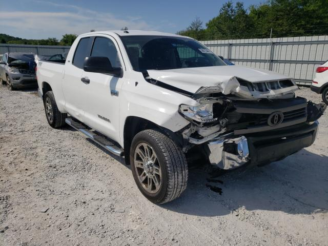 Salvage trucks for sale at Prairie Grove, AR auction: 2014 Toyota Tundra DOU