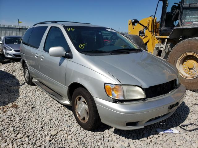 Salvage cars for sale from Copart Appleton, WI: 2003 Toyota Sienna LE