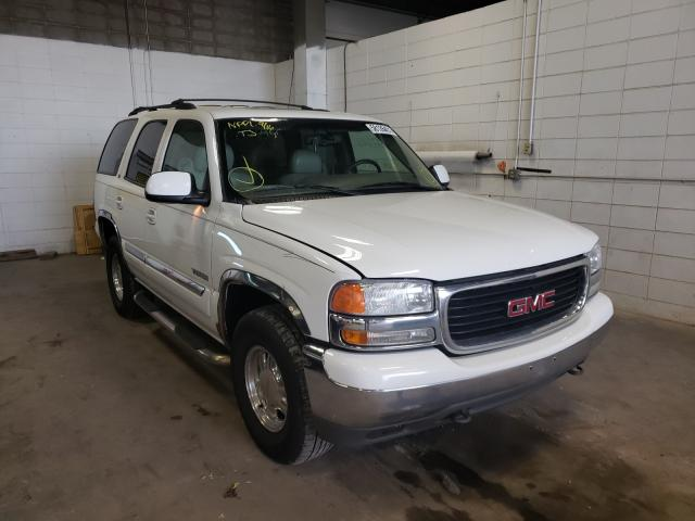 Salvage cars for sale from Copart Blaine, MN: 2001 GMC Yukon