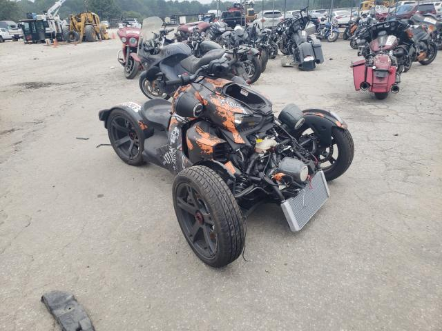 Salvage cars for sale from Copart Austell, GA: 2021 Can-Am Ryker