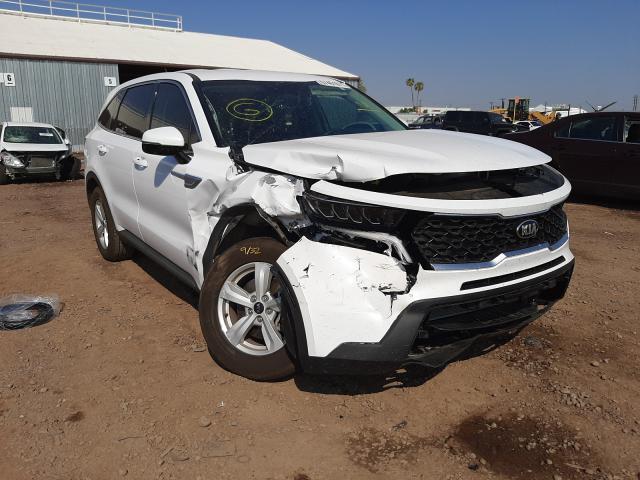 Salvage cars for sale at Phoenix, AZ auction: 2021 KIA Sorento LX