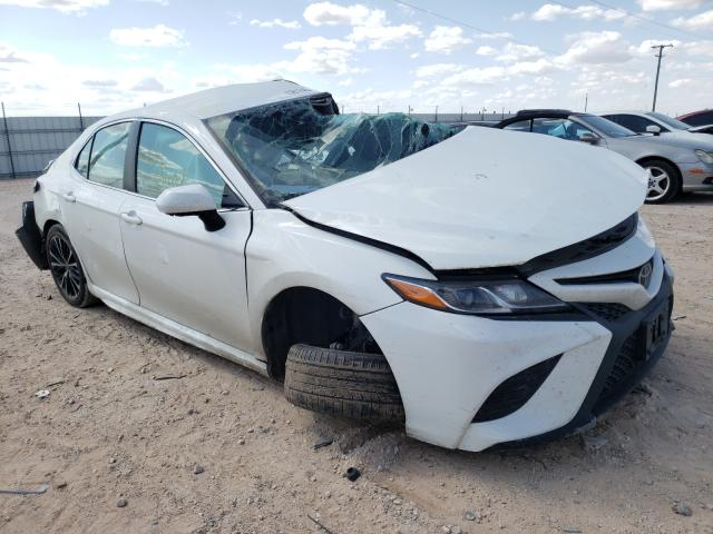 Salvage cars for sale from Copart Andrews, TX: 2018 Toyota Camry