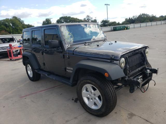 Vehiculos salvage en venta de Copart Wilmer, TX: 2016 Jeep Wrangler U