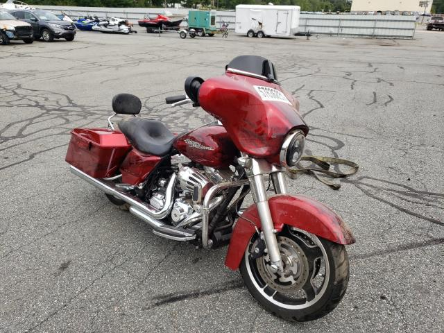 Salvage cars for sale from Copart Exeter, RI: 2012 Harley-Davidson Flhx Street