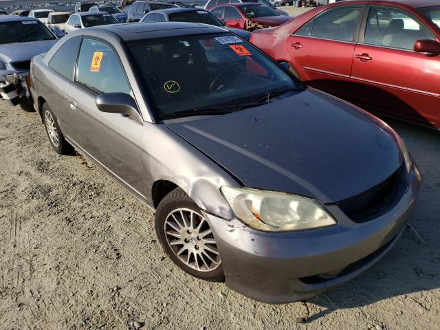 Salvage cars for sale from Copart Antelope, CA: 2005 Honda Civic EX