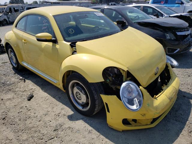 Salvage cars for sale from Copart Antelope, CA: 2013 Volkswagen Beetle